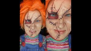 Chucky Makeup For Halloween by Chucky Makeup For Halloween