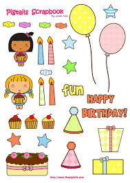 birthday stickers free scrapbook birthday embellishment by thepigtails via flickr