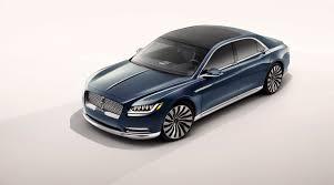 Lincoln Continental Matrix Ford Revives The Lincoln Continental Aims At U S And China