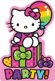 Invitation Card Hello Kitty 18 Best Hello Kitty Rainbow Party Ideas Images On Pinterest