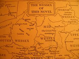 Wessex England Map by Far From The Madding Crowd The Ladies Books U0026 Tackle Society