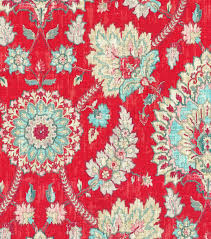 upholstery fabric waverly bartlett place strawberry joann