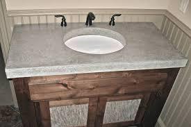 Concrete Bathroom Vanities Sinks  Countertops - Bathroom vanity counter top 2