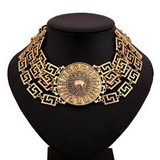 big chunky necklace images Chunky gold statement necklace bib on luulla and necklaces awwake me jpg