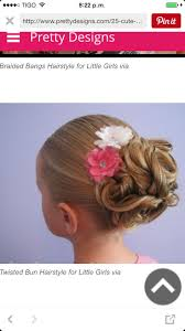 Fancy Hairstyles For Little Girls by 102 Best Peinados Infantiles Images On Pinterest Children