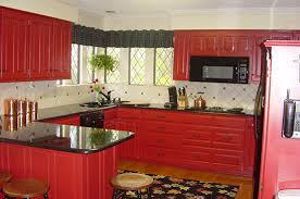 Red Cabinets In Kitchen by A New Look For My Kitchen Open Cabinets