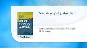 natural computing algorithms youtube