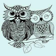 owls tribal design bb monde graphic shop