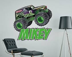 monster truck etsy