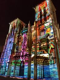 san fernando cathedral light show in the shadow of san fernando by patrick cardwell first baptist