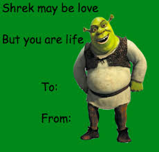 Valentines Day Cards Memes - shrek images sherk valentines day e cards wallpaper and background