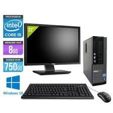 choix ordinateur de bureau 28 unité centrale et écran achat vente pas cher cdiscount