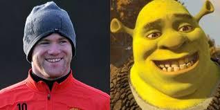 footballers cartoon lookalikes