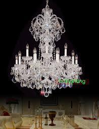 pleasing big chandelier lighting for modern home interior design