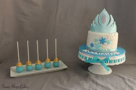 frozen themed birthday cake cakecentral com