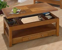 oak lift top coffee table