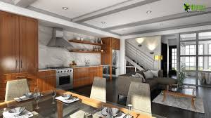Kitchen Design Usa by Beautifully Bold 3d Interior Kitchen Design View California Usa