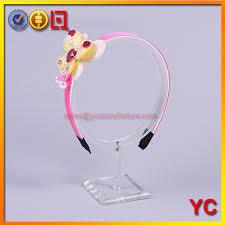 headband stand clear acrylic headband display stand clear acrylic headband