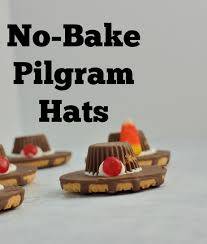 no bake pilgrim hat cookies savory experiments