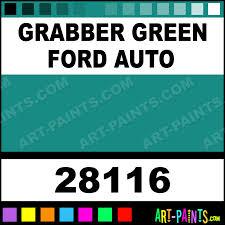 grabber green ford auto model acrylic paints 28116 grabber
