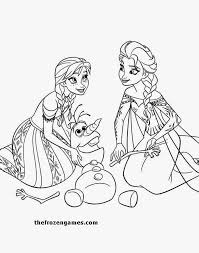 online coloring pages frozen anna
