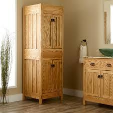 Mission Style Bath Vanity Bathroom Modern L Mission Linen Cabinet Finished Bathroom Linen