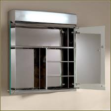 hiding mirrored medicine cabinet