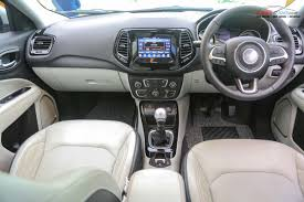 jeep compass dashboard jeep compass vs tata hexa u2013 specs comparison