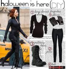 Avengers Halloween Costume Movie Quality Black Widow Costume Iron Man 2 Tutorial Ish