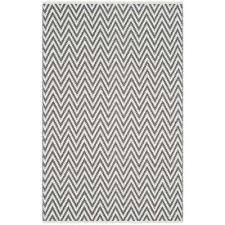 gray 4 x 6 chevron area rugs rugs the home depot