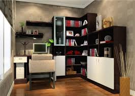 make a room with l shaped bookcase u2014 doherty house