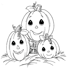 color number coloring page kids education pages free halloween