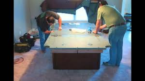 Peter Vitalie Pool Table by Peter Vitale Cache Pool Table Installation Youtube
