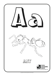 letter coloring pages preschoolers printable tracing