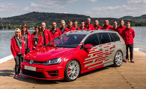 gti volkswagen 2016 vw unveils apprentice built gti and golf r variant for worthersee