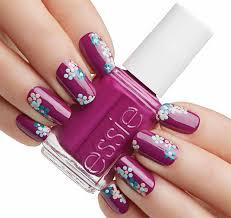 nail art essie flowerista beauty and make up pinterest