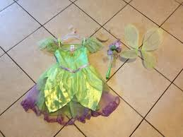 light up fairy wings disney store tinkerbell fairy dress costume light up shores wand