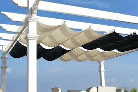 Pergola Canopy Ideas by White Vinyl Pergola With Canopy White Pergola With Retractable