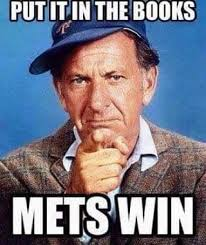 New York Mets Memes - mets win put it in the books oscar madison odd couple new york