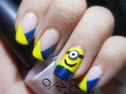 11 marvelous minion nail designs