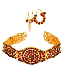 bharatanatyam hair accessories usha gold plating works bharatanatyam jewellery set buy usha gold