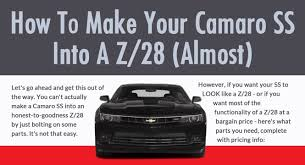 your own camaro does it sense to build your own chevy camaro z 28 our ride