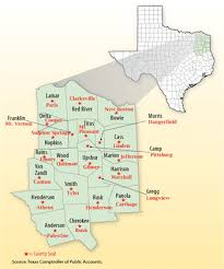 map tx east maps maps of east counties list of counties