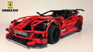 lego koenigsegg one 1 lego ideas r c ferrari 599xx evo scale 1 10