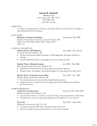 sle resume format nursing graduate cover letter cv template new grad resume
