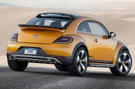 new volkswagen beetle 2017 volkswagen beetle dune concept first look motor trend