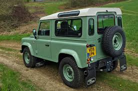 green land rover 2016 land rover defender 90 heritage review
