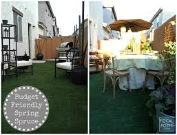 Budget Backyard Focal Point Styling Rental Restyle Budget Friendly Backyard