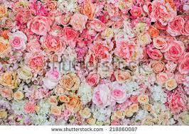 wedding flowers background beautiful flowers background wedding stock photo 218860087