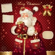 card reindeer santa claus free vector 17 883